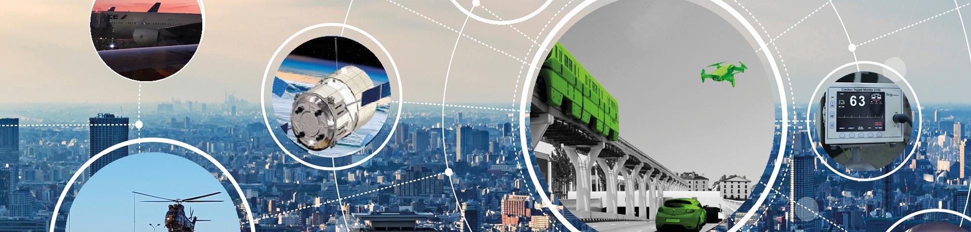 Les principaux secteurs de Sopemea : Ferroviaire, Aéronautique, Défense, Energie, Bien industriels