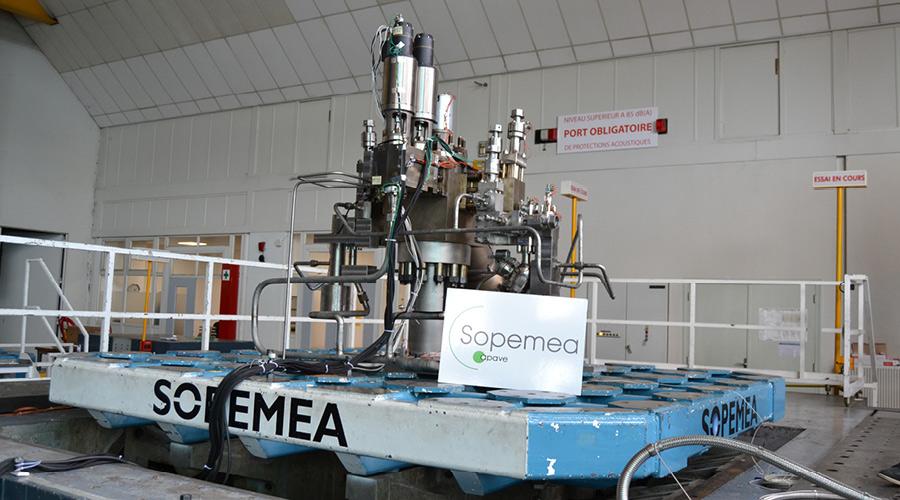 A 3 m x 3 m seismic table