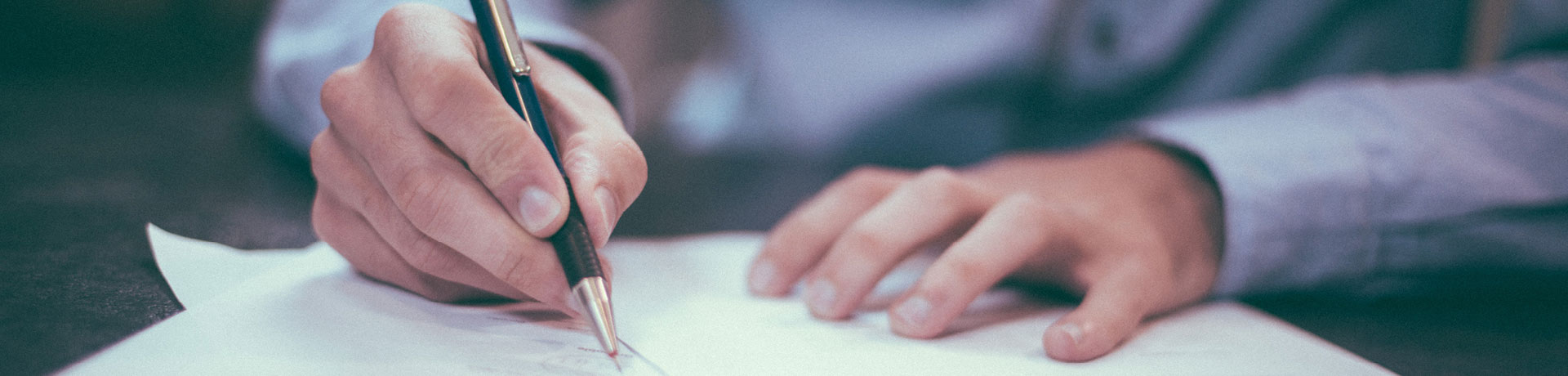 A person signing a partnership contract