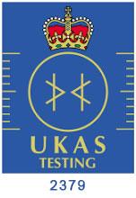 UKAS testing 2379 logo