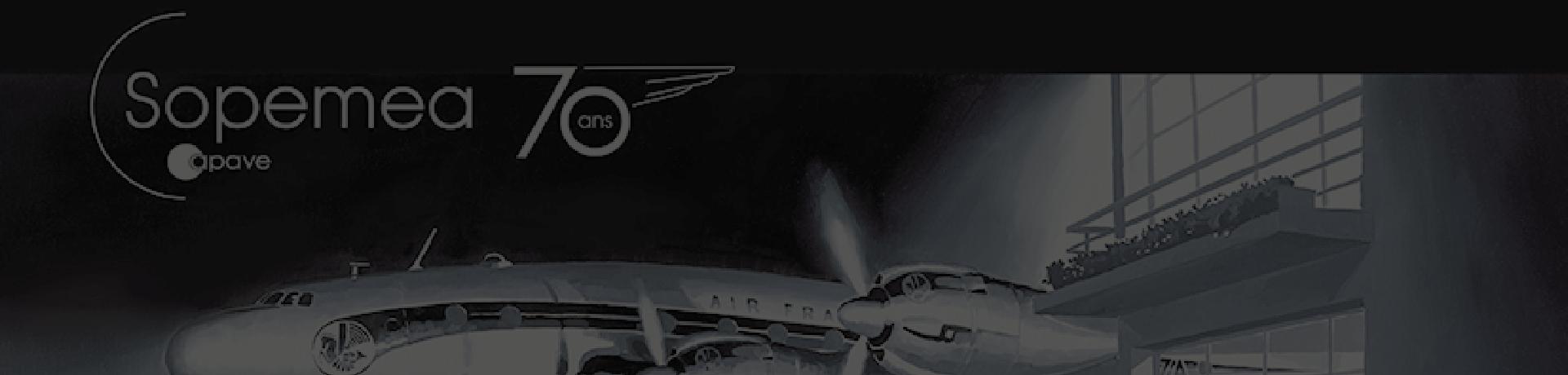 Sopemea 70th anniversary ad