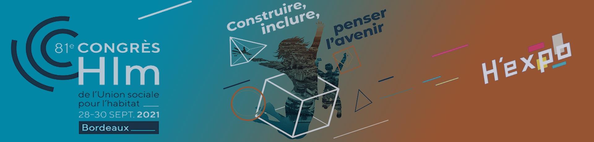 Congrès HLM du 28 au 30 Septembre à Bordeaux