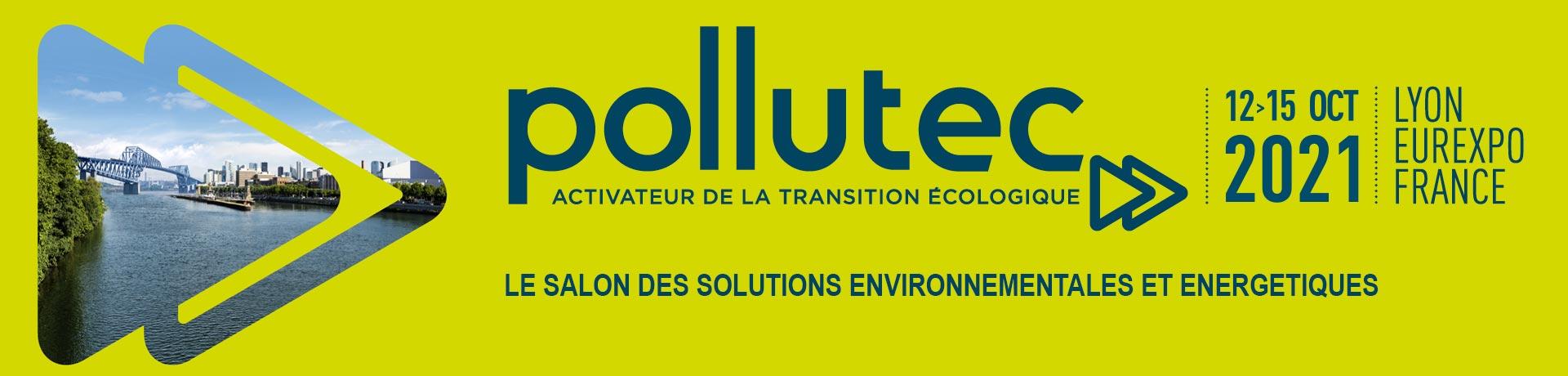Salon Pollutec Lyon Octobre 2021