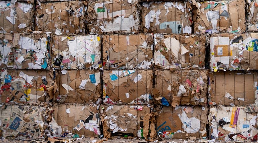 Ballots de déchets
