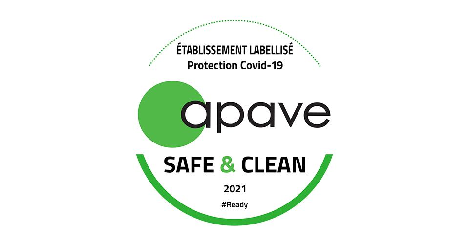 Logo Safe and Clean d'Apave