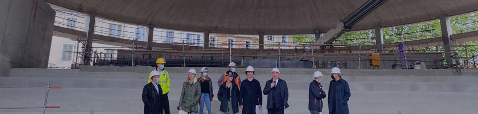 construction site Foirail of Pau