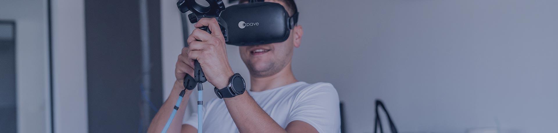lunette de réalité virtuelle