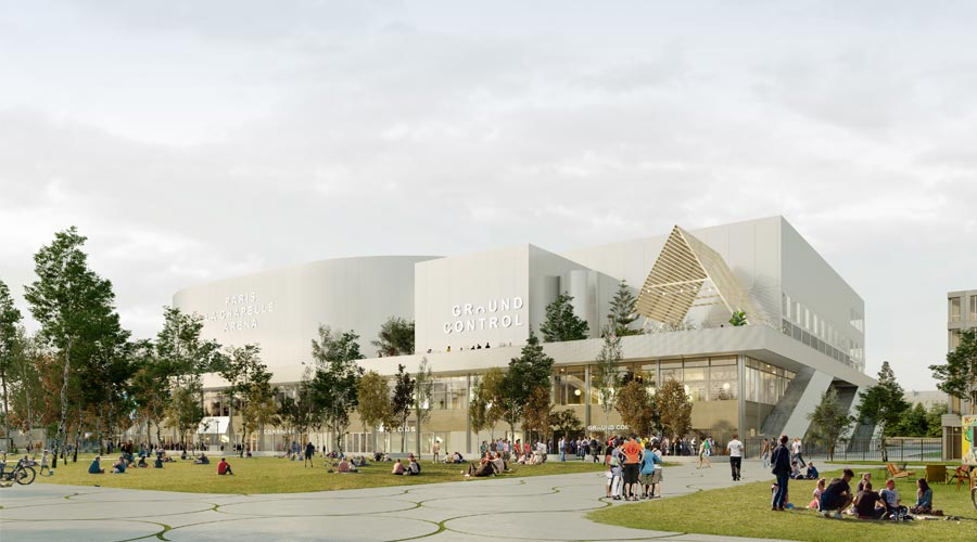 Arena 2 project Olympic Games 2024