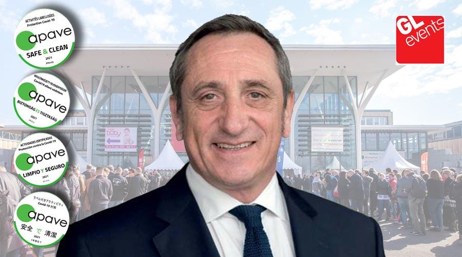 Olivier Ferraton Directeur Général Délégué de GL Events