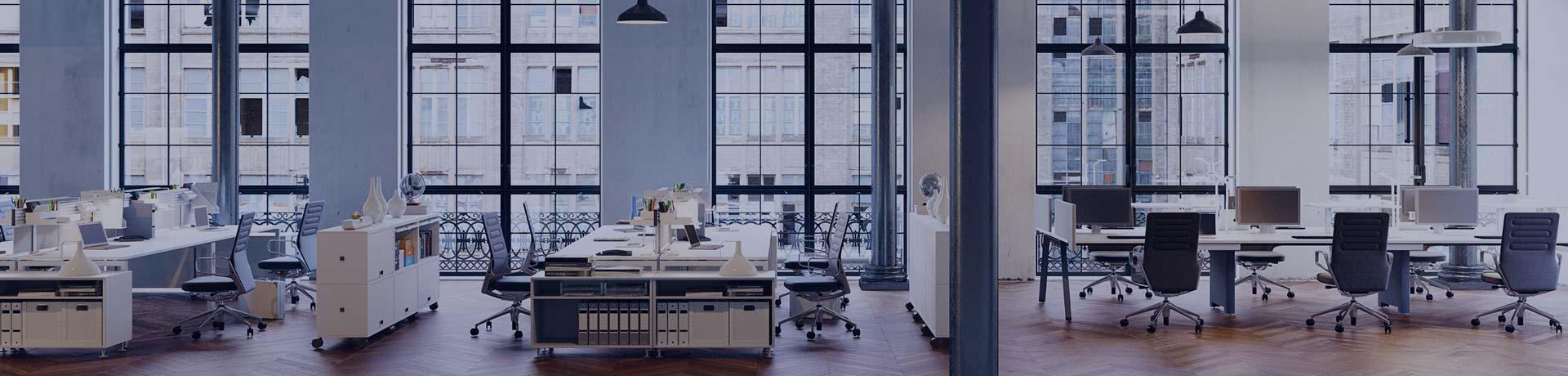Des bureaux