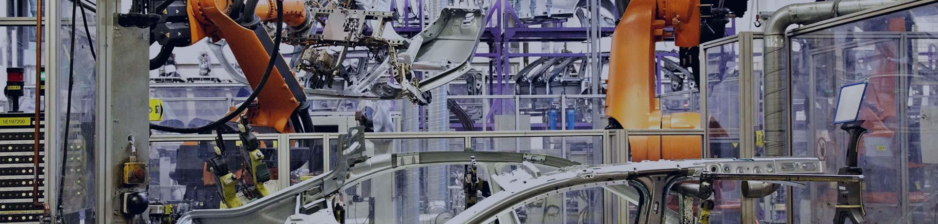 Chaîne industrielle automobile