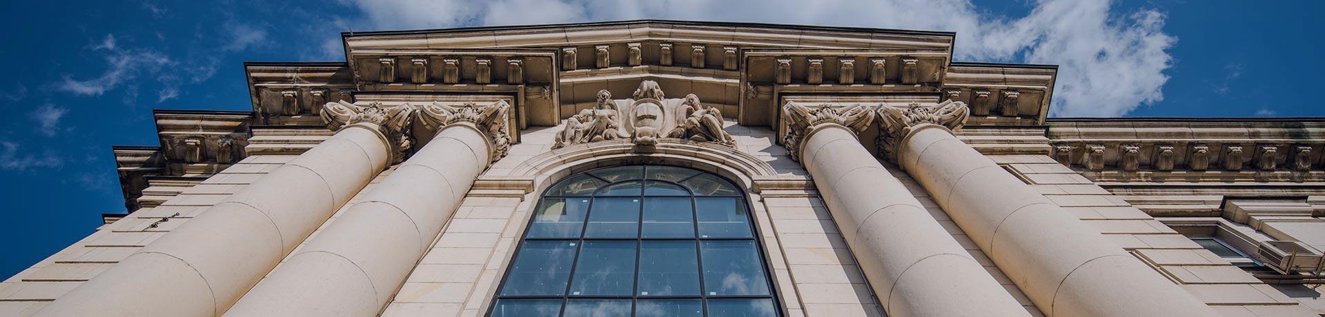 Un bâtiment administratif