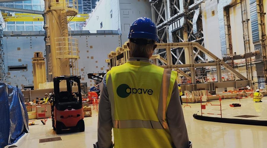 Inspection sur un chantier
