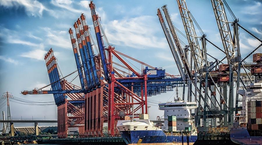 Zone portuaire Hambourg