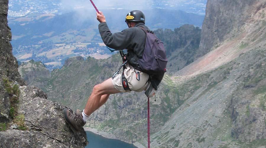 A man who climbs