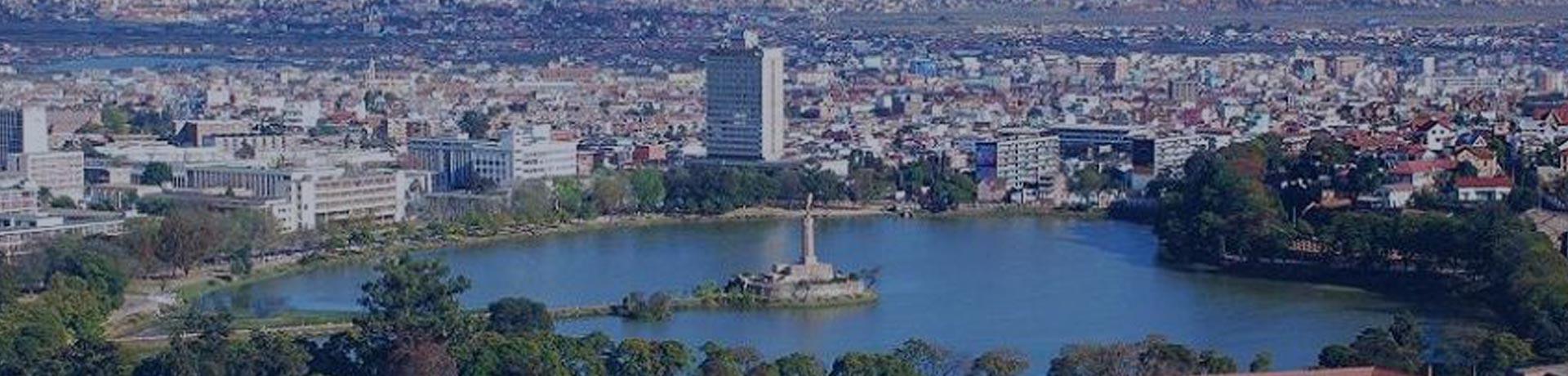 Vue de Antananarivo