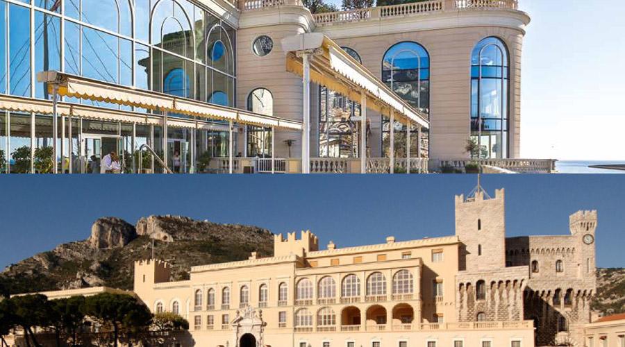 palais princier de Monaco et Hôpital Grace Kelly de Monaco