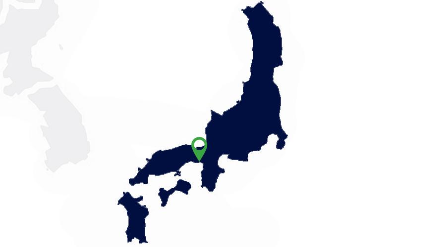 Carte Implantations Apave au Japon