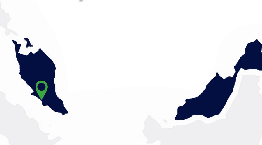 Carte implantations Apave Malaisie