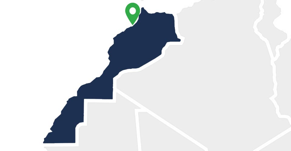 Carte implantation Apave au Maroc