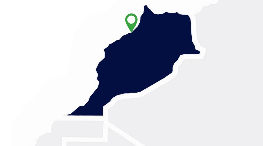 Carte implantations Apave Maroc
