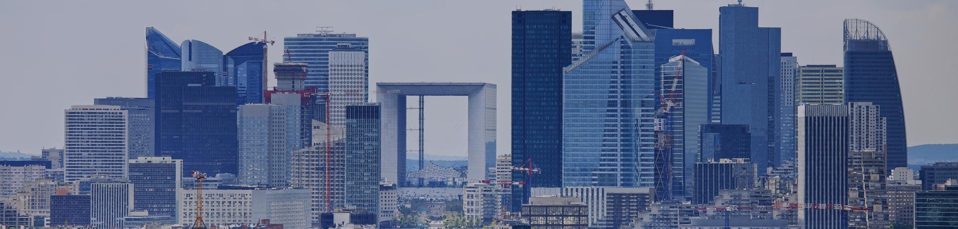 Vista su La Défense