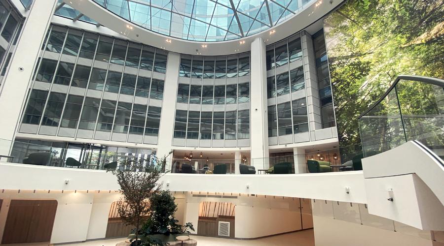 Apave headquarters Canopy