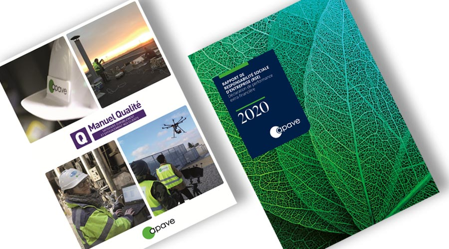 Brochures Qualité et RSE Apave