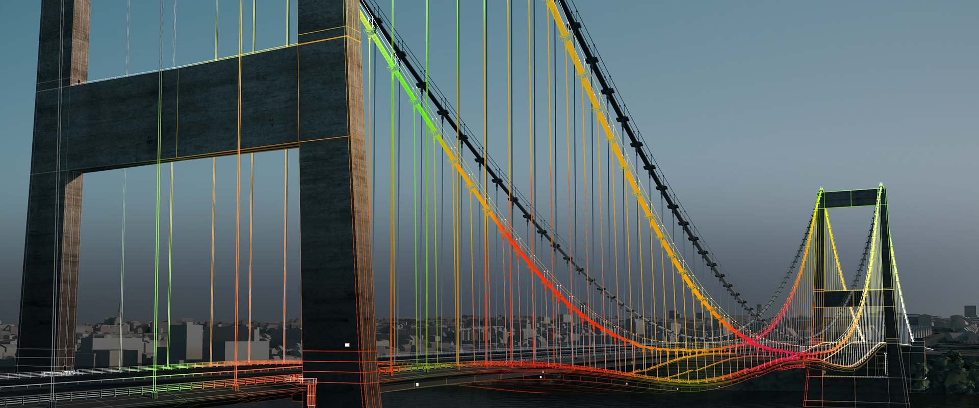 3D modeling on a bridge